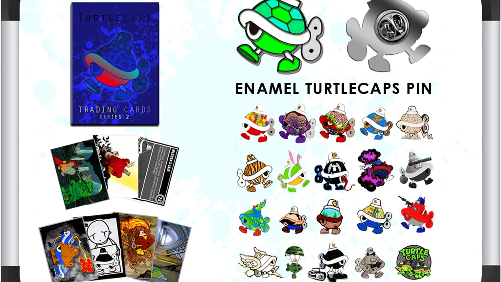 Behind the Shell: TurtleCaps Art Packs project video thumbnail