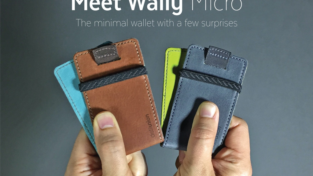 Wally Micro - The Minimal Wallet with a Few Surprises project video thumbnail