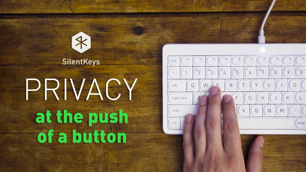 SilentKeys: A Keyboard that Protects your Privacy & Security project video thumbnail
