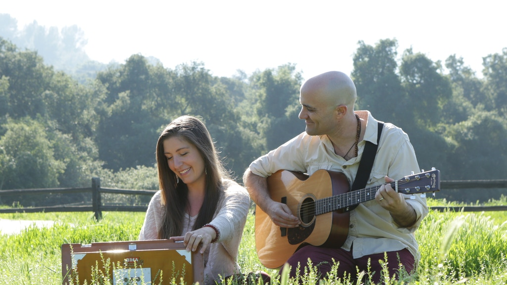 "Rob and Melissa's new CD ""Tejase""- kirtan and music for yoga project video thumbnail"