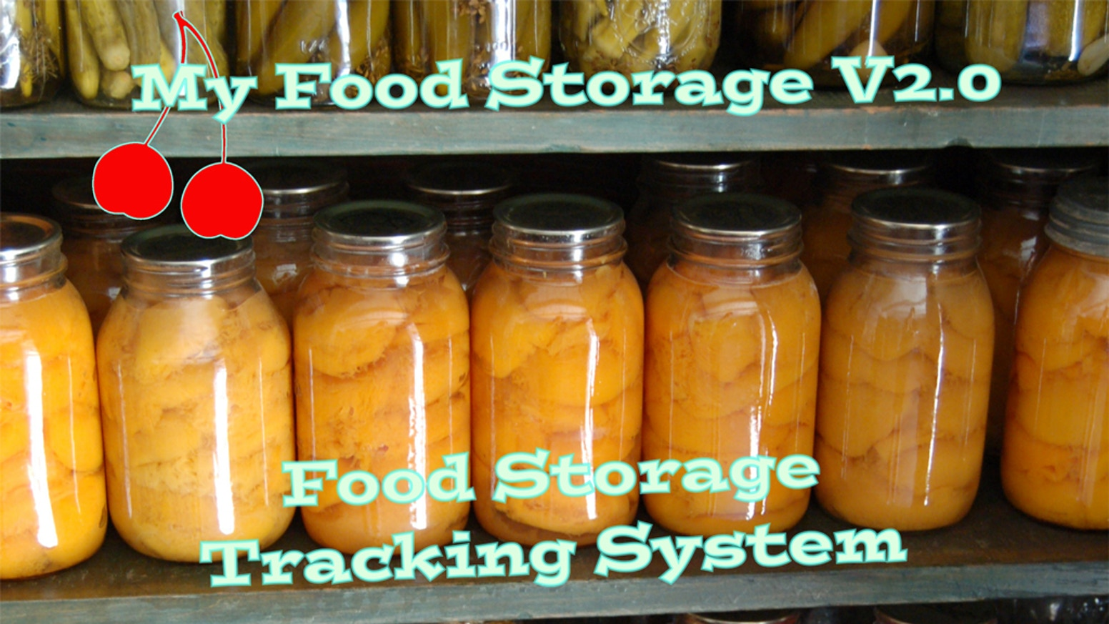 A Food Storage Tracking app currently in development using input from the kickstarter backers. For food storage related information, check out the companion website at http://mfs2.com, or you can pre order the app below.