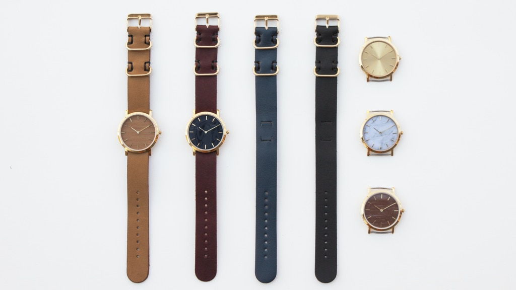 The Classic Collection: An Interchangeable Everyday Watch project video thumbnail