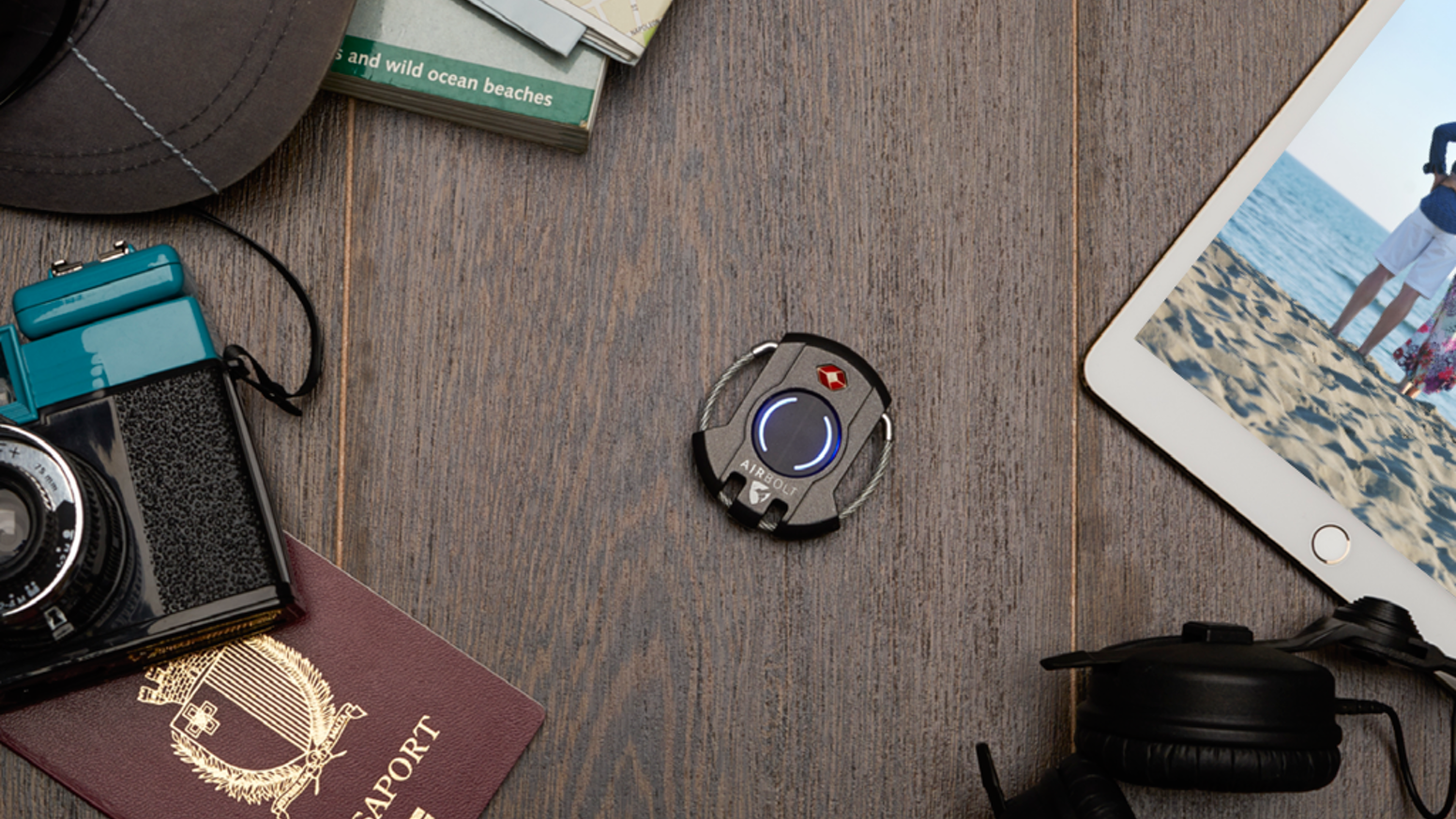 This is not the first smart lock for your luggage. This is the first true lock for your luggage.