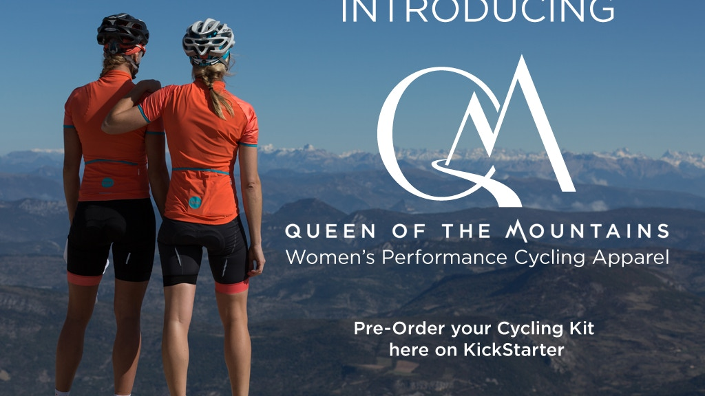 Queen of the Mountains - Women's Cycling Apparel project video thumbnail