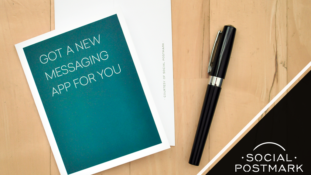 Social Postmark - Greeting cards without character limits project video thumbnail