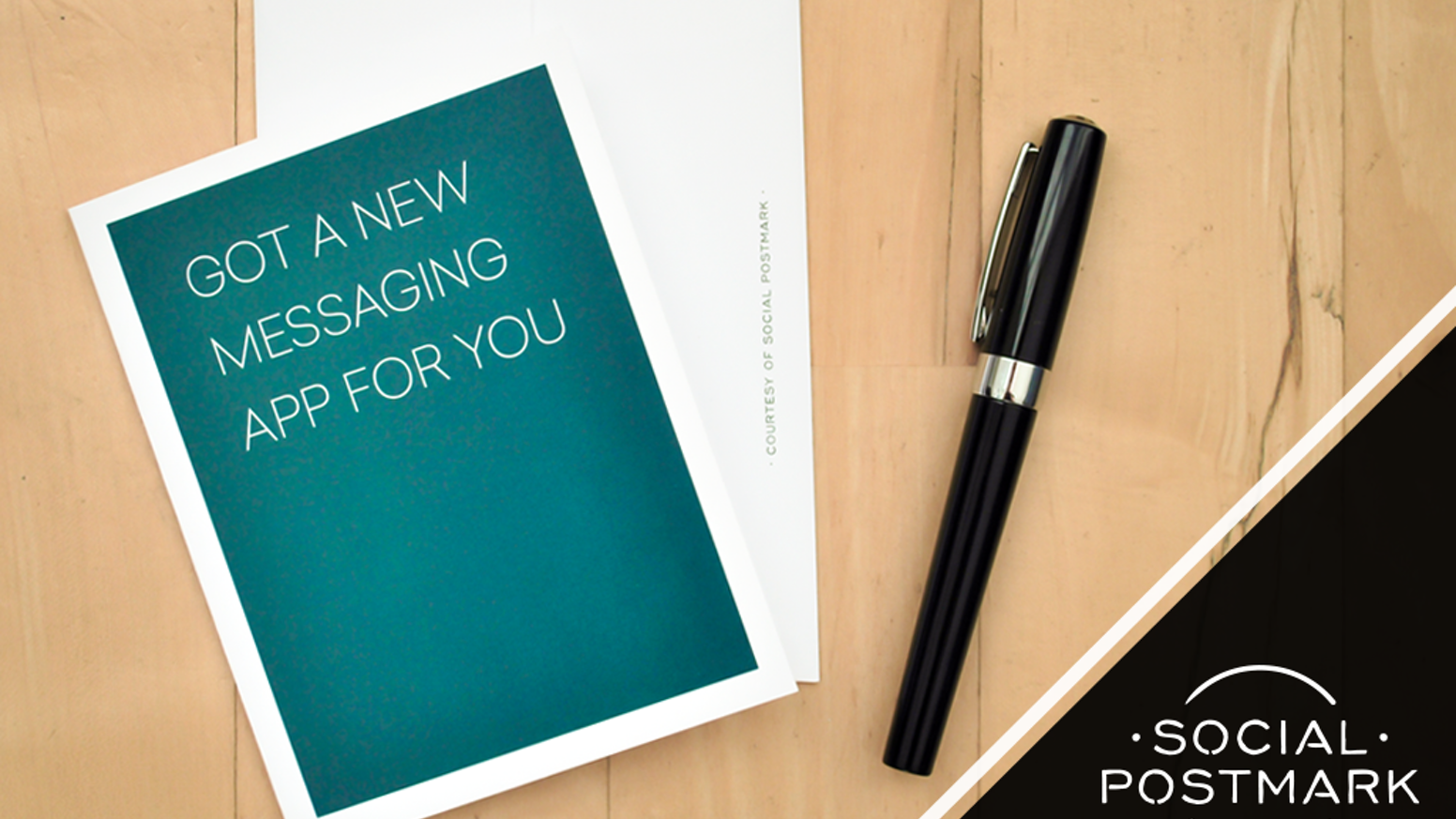 Social Postmark is a box set of 20 provocative greeting cards, designed to meet the needs of any social situation.
