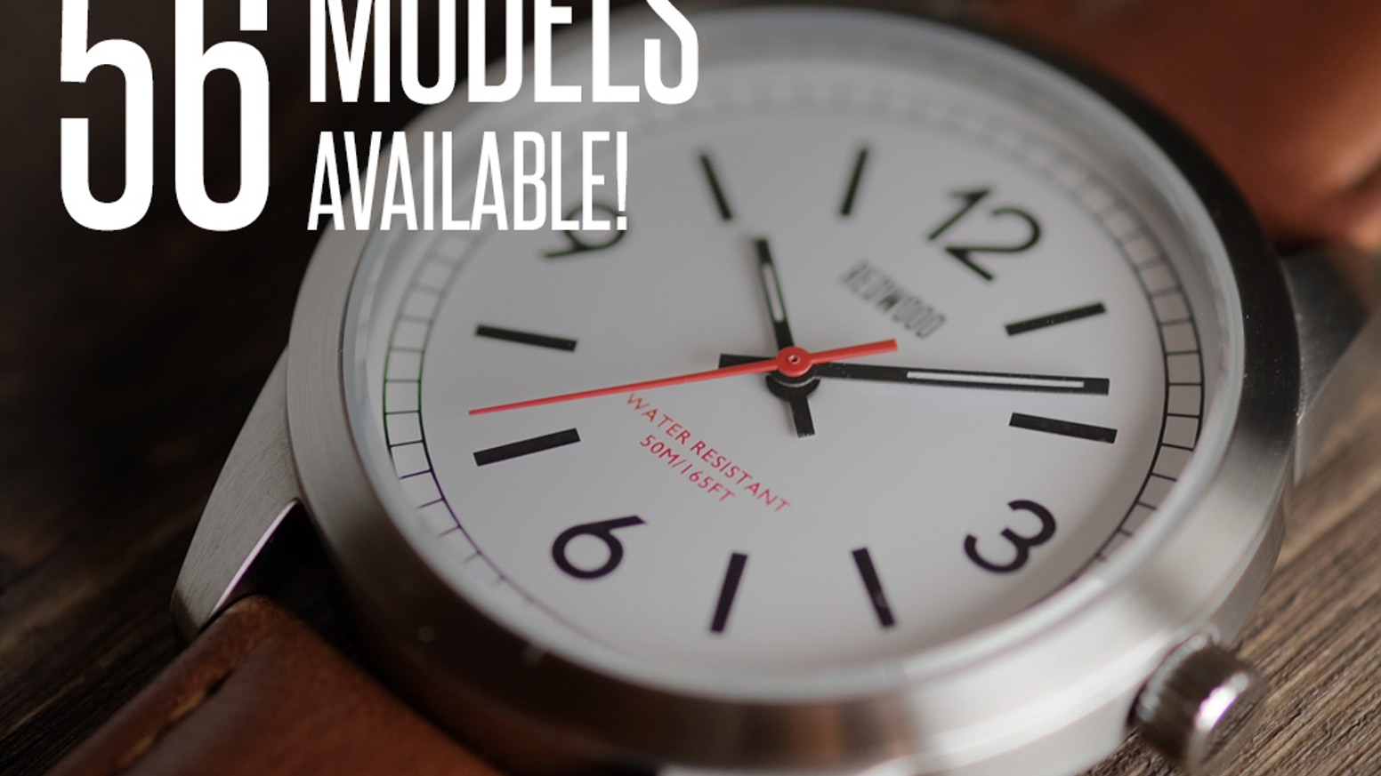 56 Models Inspired by Vintage Field Watches. Functional. Rugged. Designed for the Outdoors. Crazy Value.