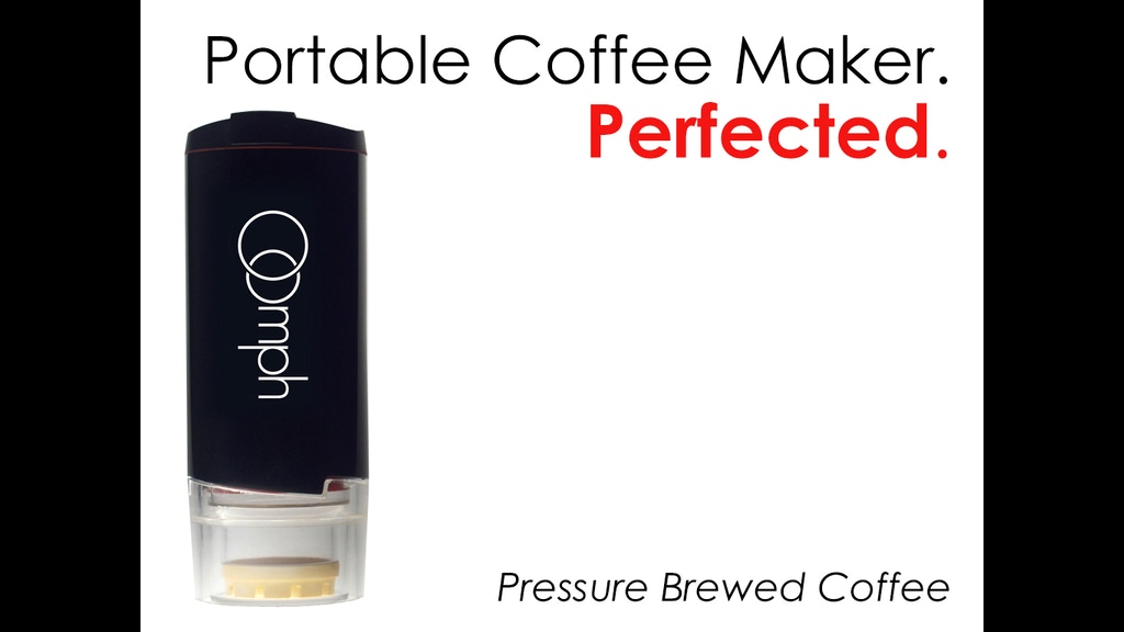 The Oomph Hand Powered Portable Coffee Maker project video thumbnail