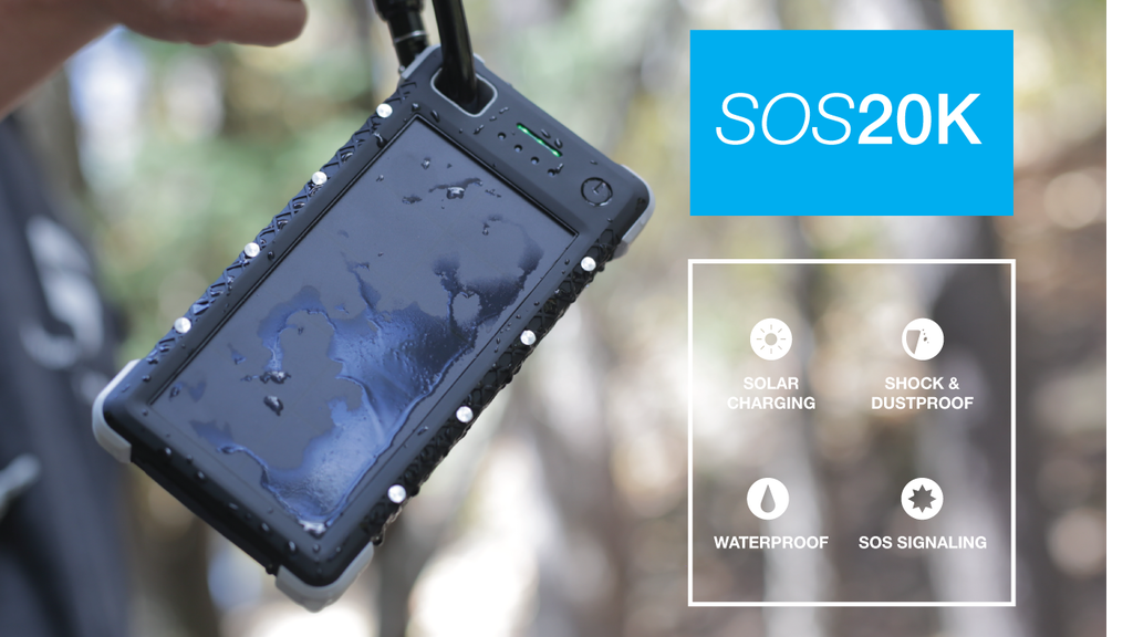 SOS 20K - Life Saving Portable Solar Battery project video thumbnail