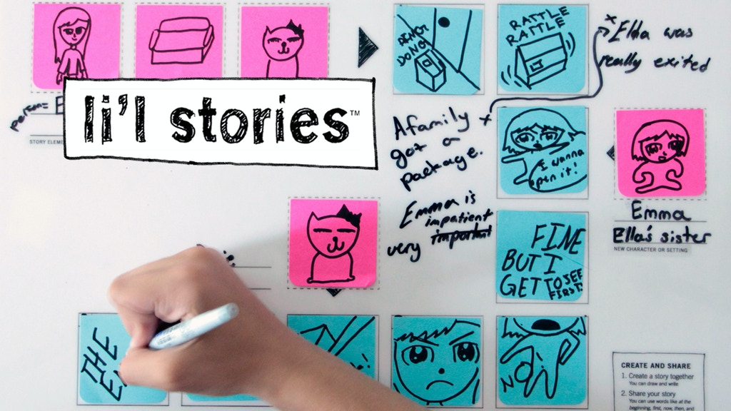 Li'l Stories: Learning Through Storytelling project video thumbnail