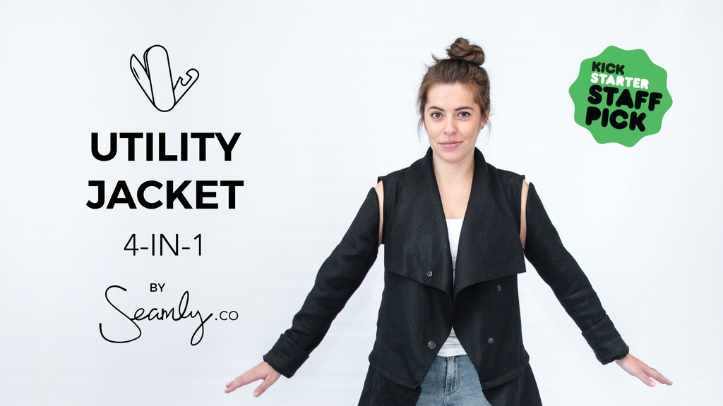 THE UTILITY JACKET: 4 Ways to Wear for Every Occasion project video thumbnail