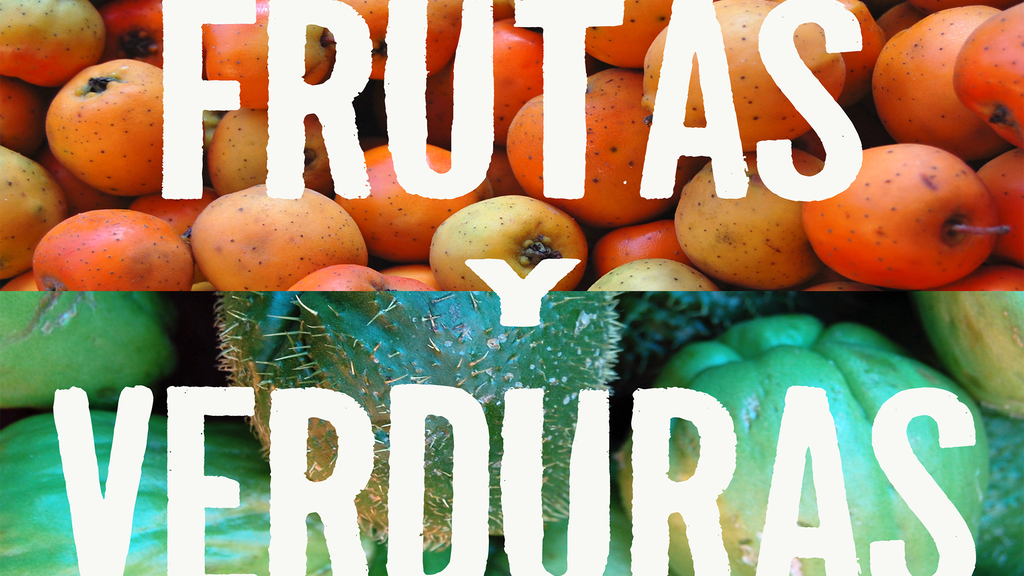 Frutas y Verduras - Guide to the fresh taste of Mexico project video thumbnail