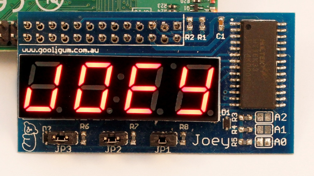 "Joey - a ""sidecar"" LED display for Raspberry Pi project video thumbnail"