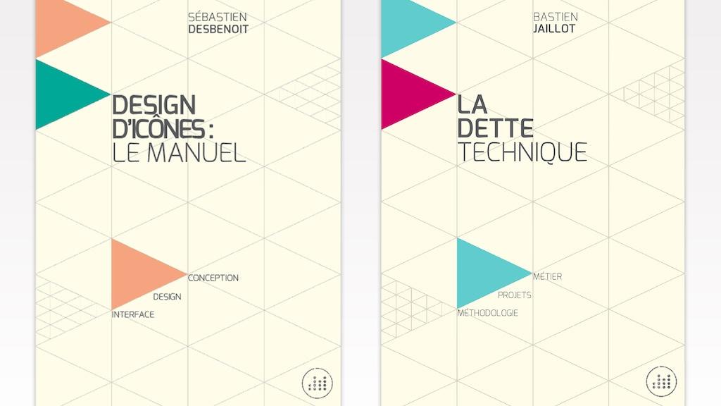 Design d'icônes et La dette technique : de l'ebook au papier project video thumbnail