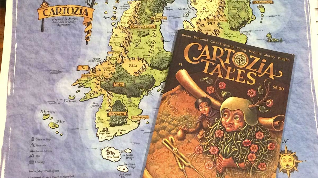 Reprint Cartozia Tales #1 (with new pages!) project video thumbnail