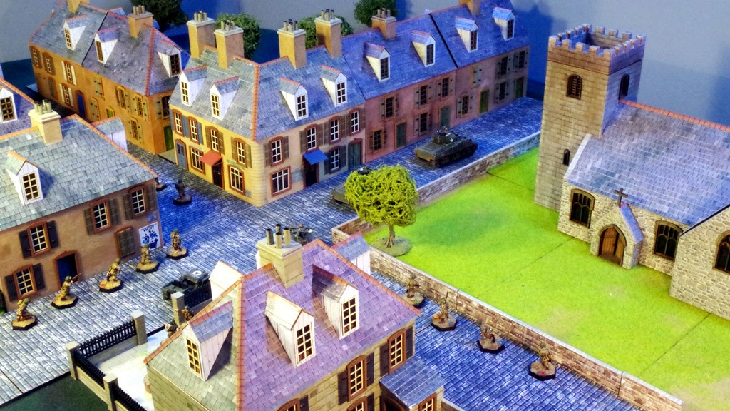 Normandy photo-realistic 28mm terrain project video thumbnail