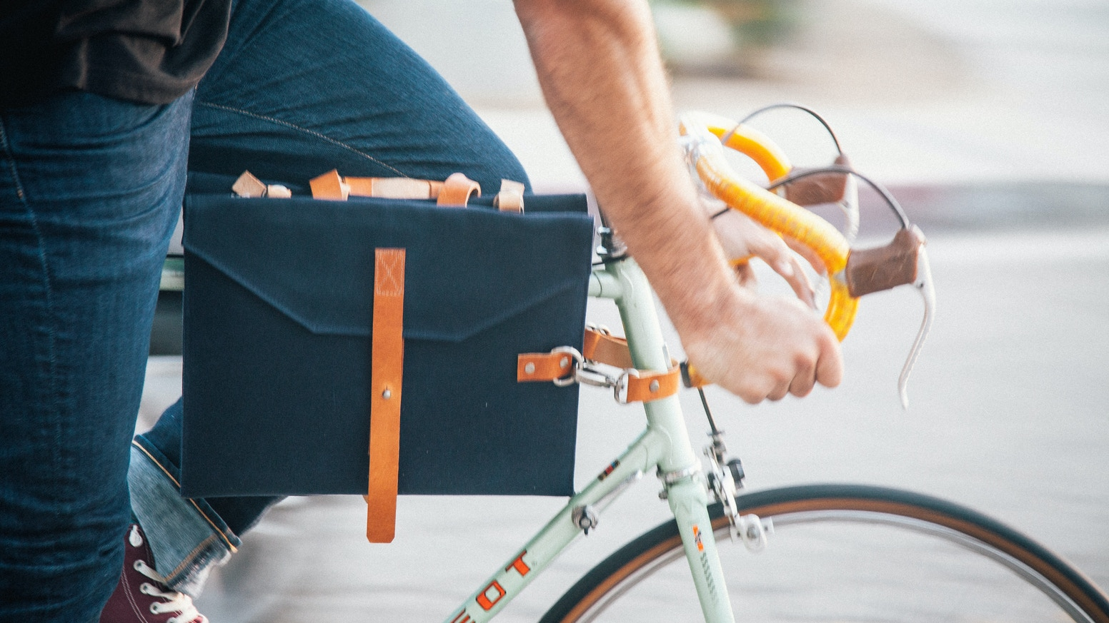 A simple and classy bag that latches onto the frame of your bike and other goodies that will make you feel like a superhero.