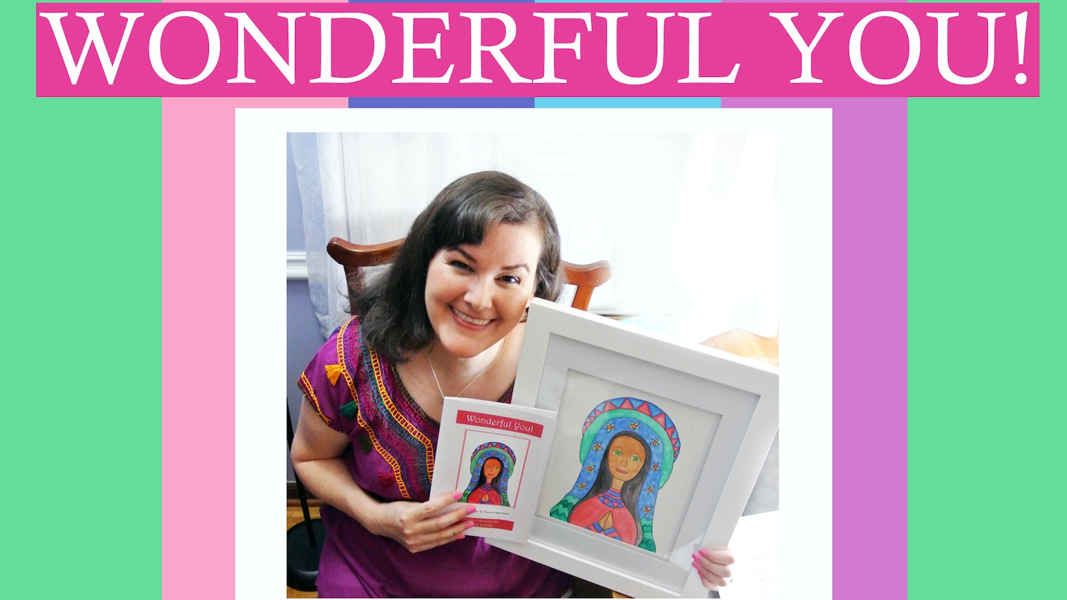 Know a wonderful lady? Brighten her day with this uplifting book. Perfect for teens, graduates, teachers & moms. Custom dedication.