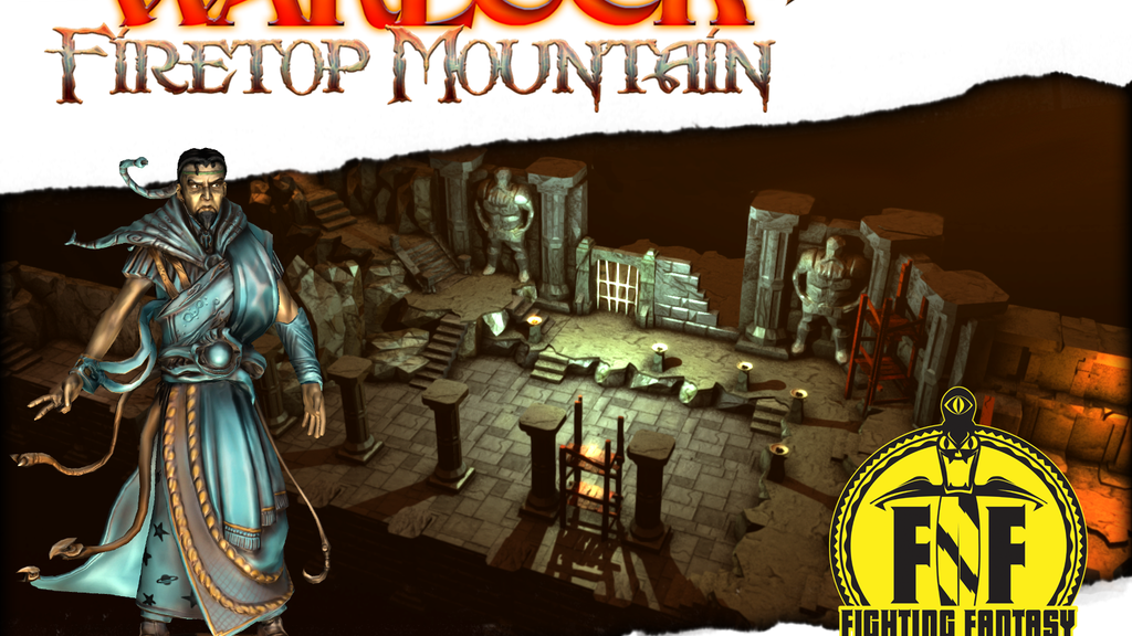 Fighting Fantasy: The Warlock Of Firetop Mountain project video thumbnail