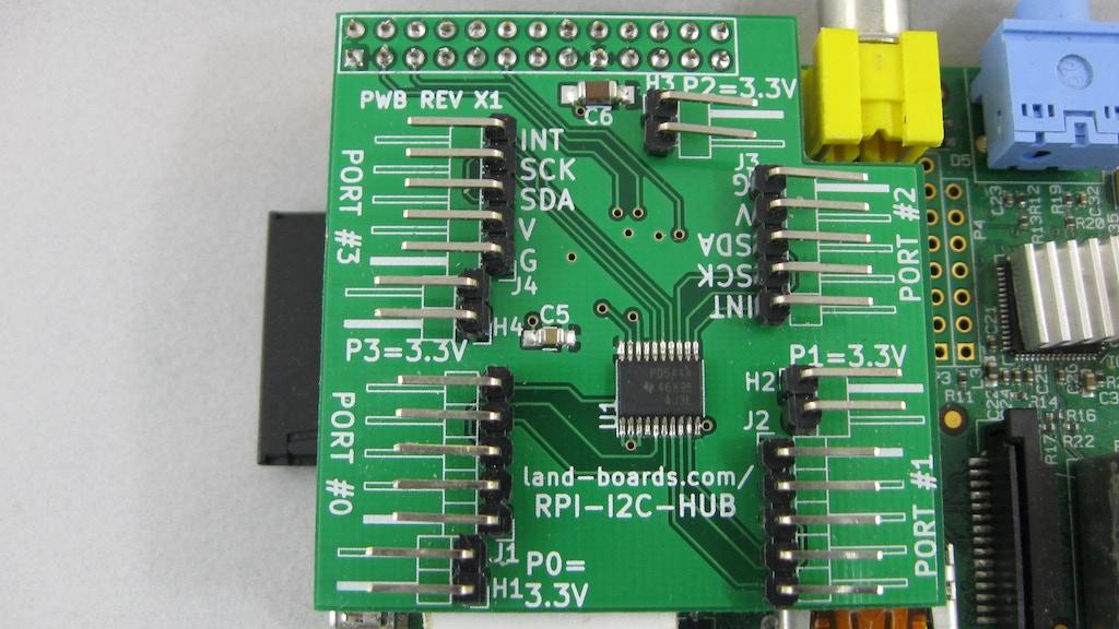I2C Multiplexer for the Raspberry Pi (RPI-I2C-HUB) project video thumbnail