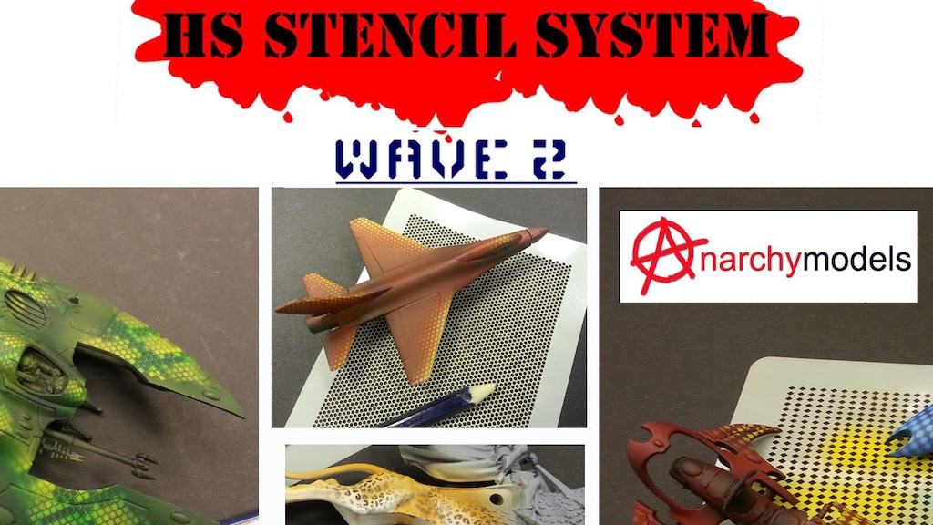 HS Stencil System - Wave 2 - from Anarchy Models project video thumbnail