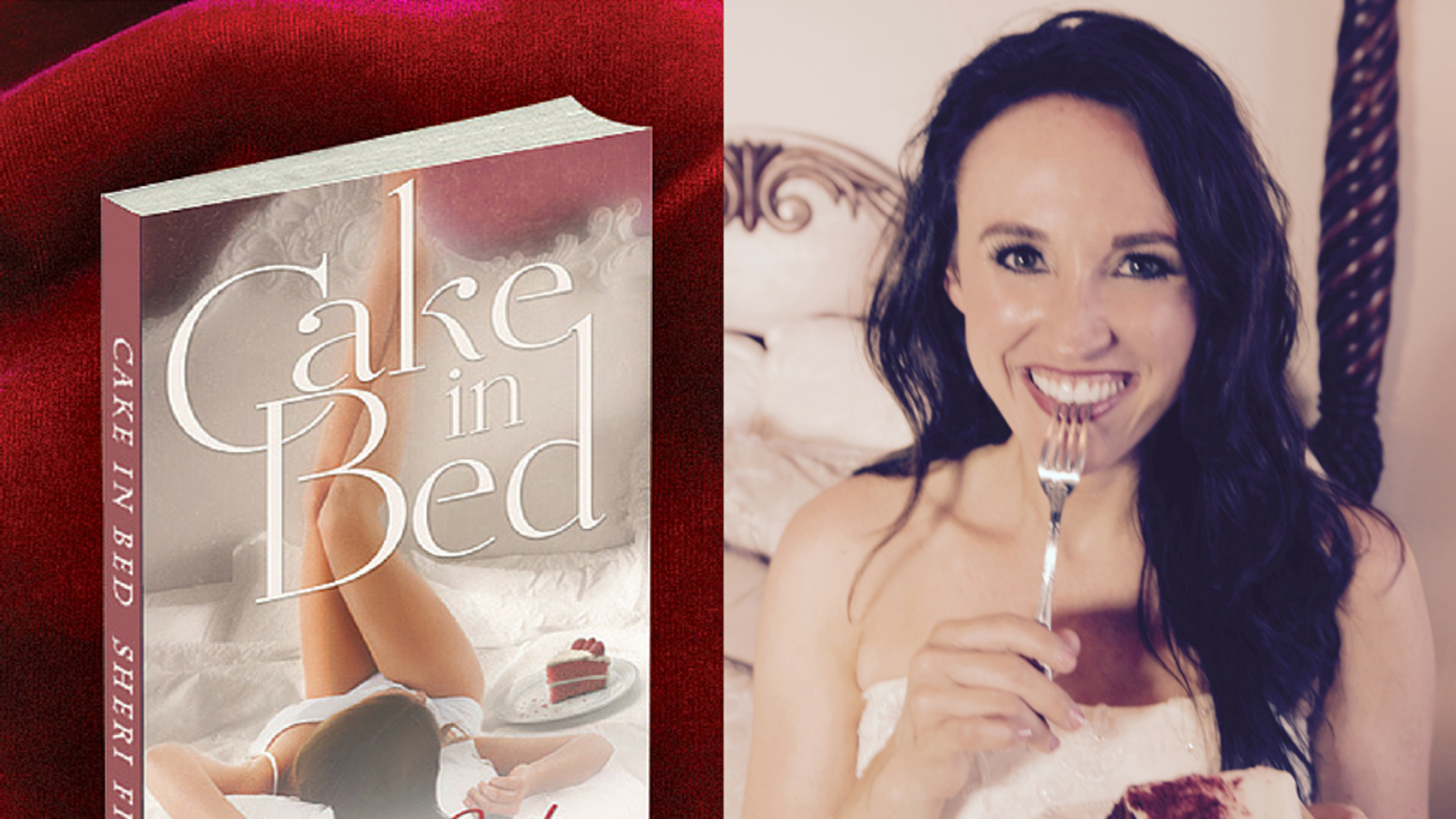 Cake In Bed is a sexy, inspiring novel about a woman who discovers herself through misadventures and finds love in an unexpected place.