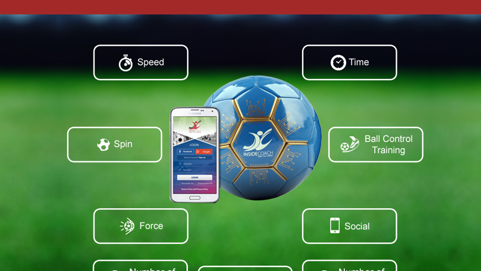 The world's smartest football/soccer ball. InsideCoach helps you keep track of your kicks, passes, touches, and play time in real time. Late to the game? No worries you can still pre-order. Click Below...click it!