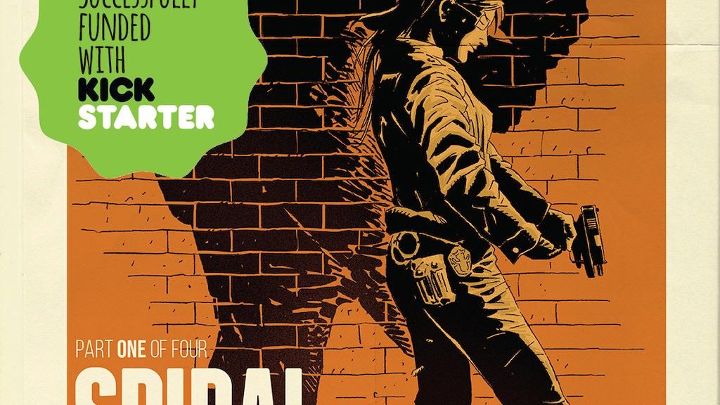 SPIRAL - a crime noir comic project video thumbnail