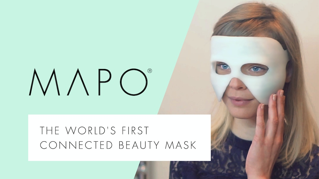 MAPO® World's First Connected Beauty mask project video thumbnail