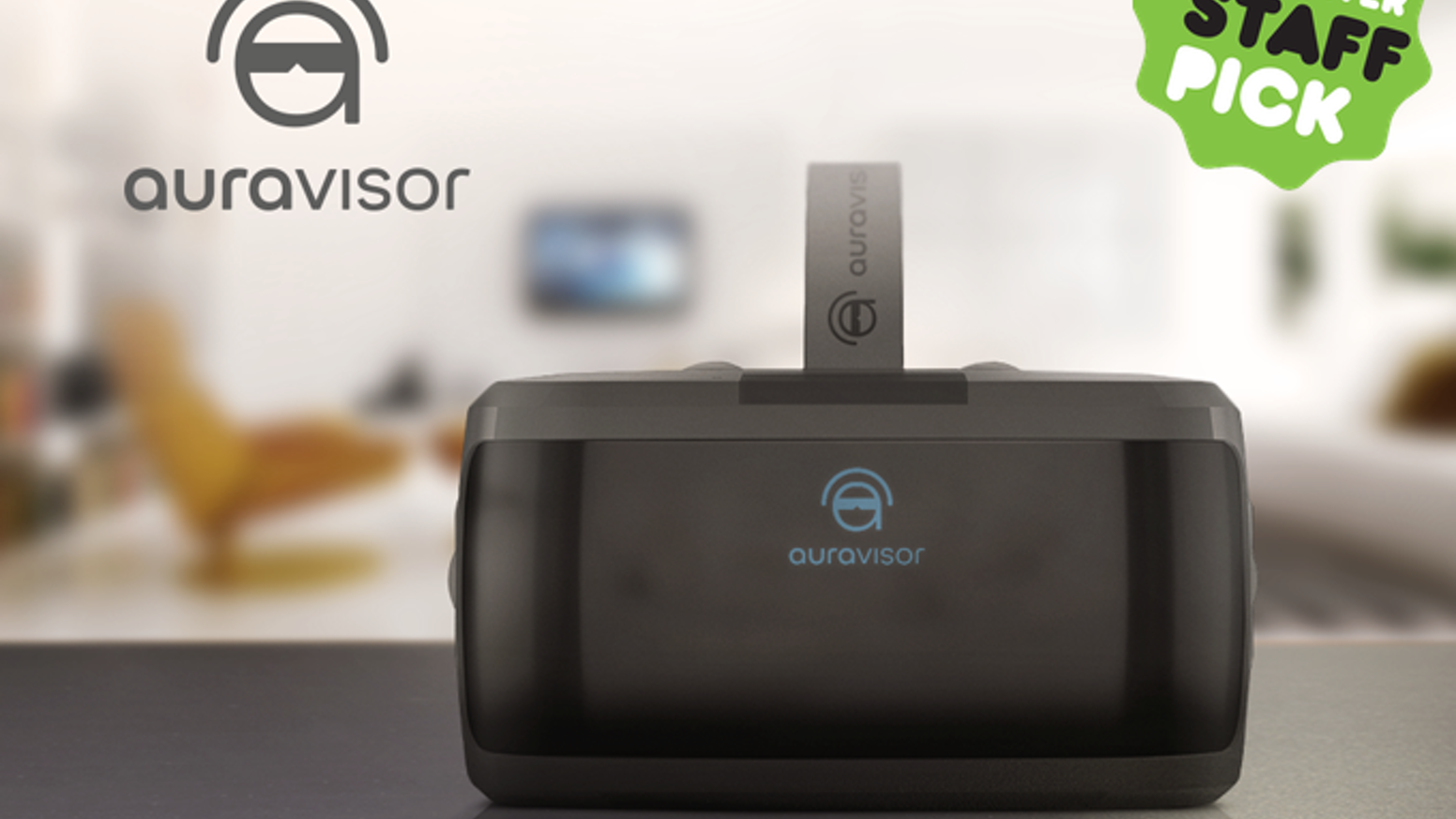 The AuraVisor. Wire Free Virtual Reality. Games, movies, video streaming. Watch 3D movies explode to life in front of your eyes
