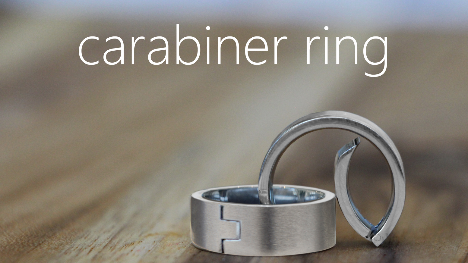 caraband rings clip securely to your belt loop, pack, and more.  Whatever your passion, profession, style - clip on the caraband.