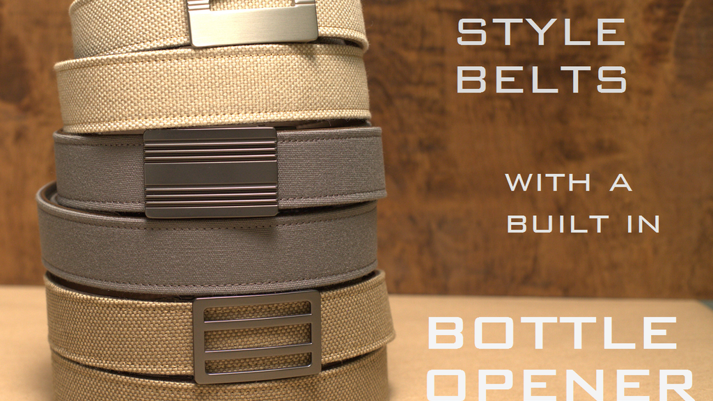 Casual Style Belt and Buckle with built in Bottle Opener project video thumbnail