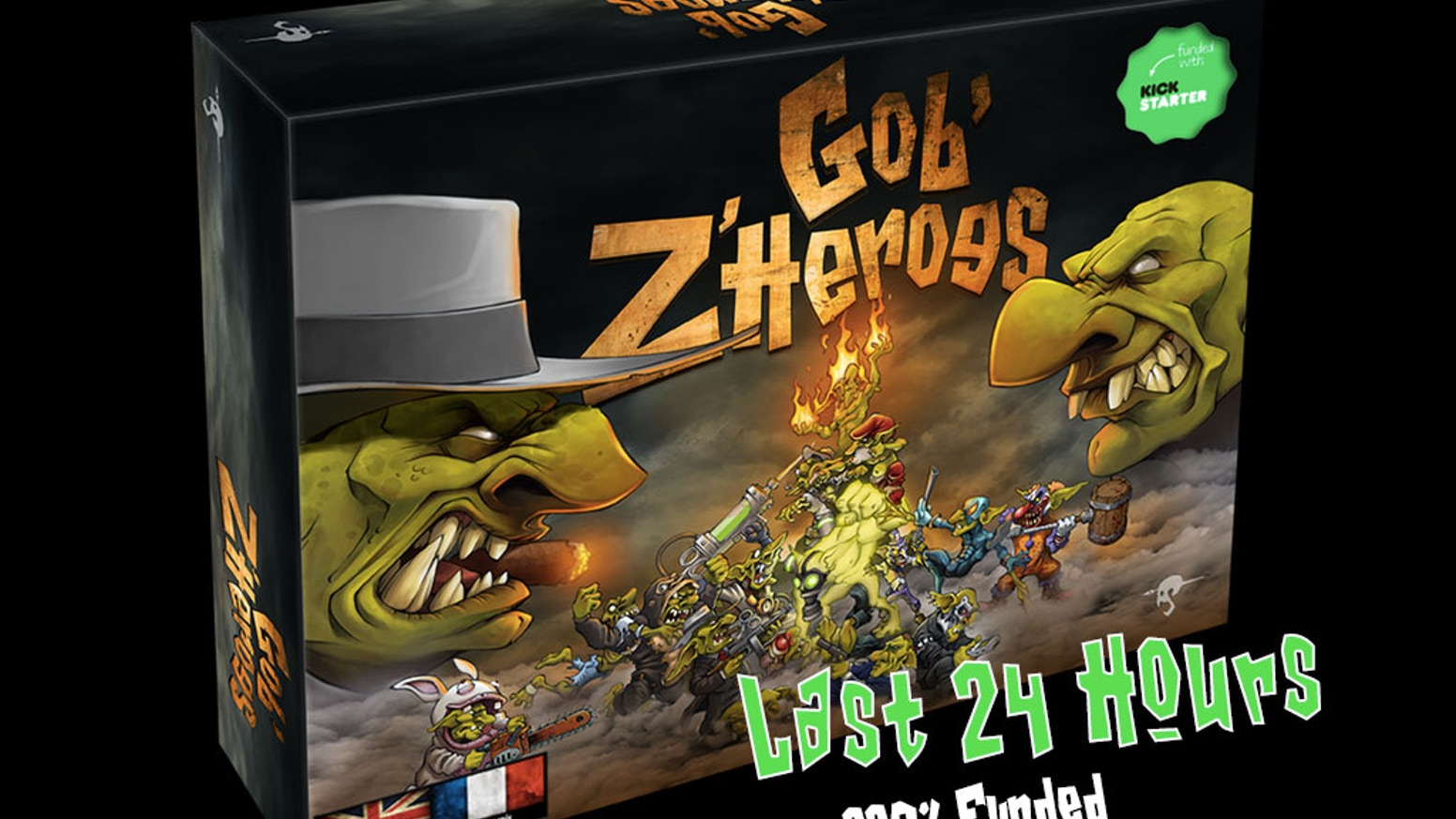A Board Game clash where Gob'z try to be heroes... ...everything is allowed, including the most ludicrous attacks...!!