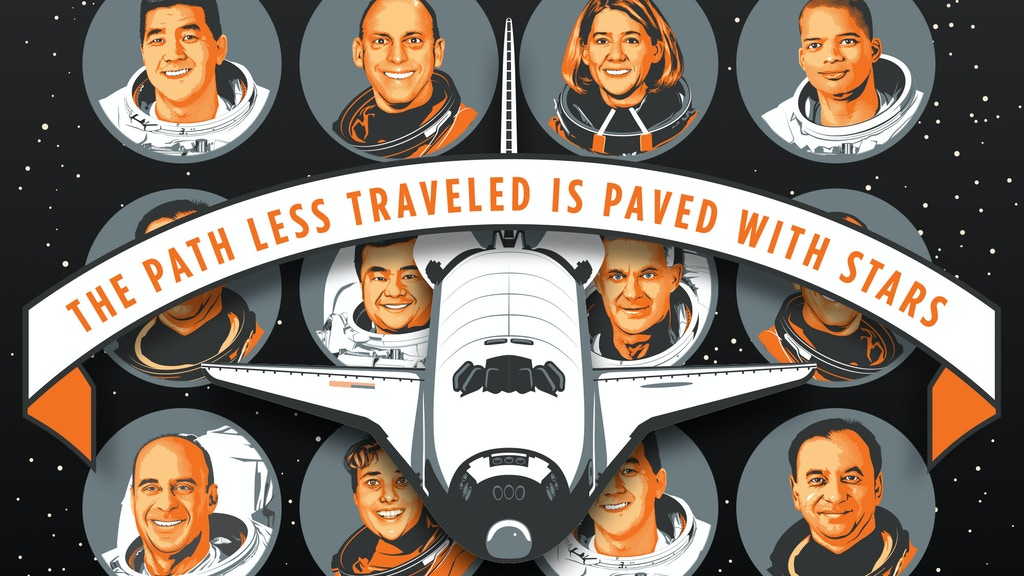 SPACE ART FEATURING ASTRONAUTS #WeBelieveInAstronauts project video thumbnail