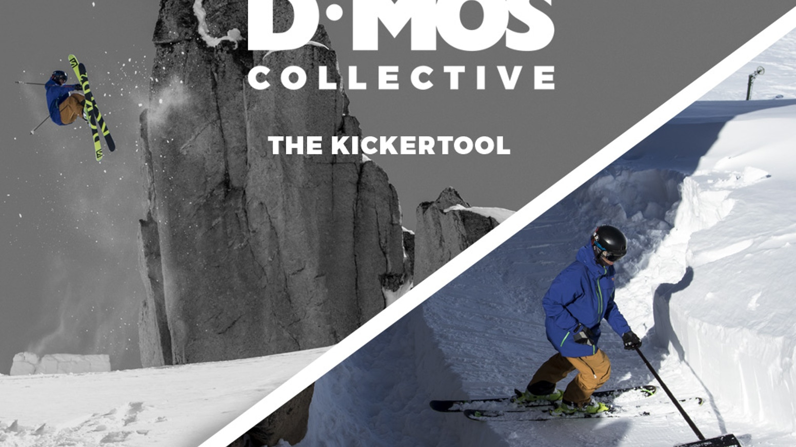 The Kicker Tool™ is the ultimate terrain-building snow shovel for ski and snowboard athletes: purpose-designed, rugged, and packable.
