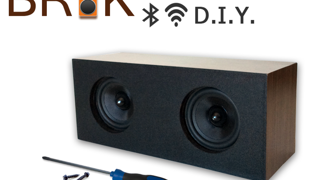 BRiK DIY Wireless Speaker System - Customize It Your Way project video thumbnail