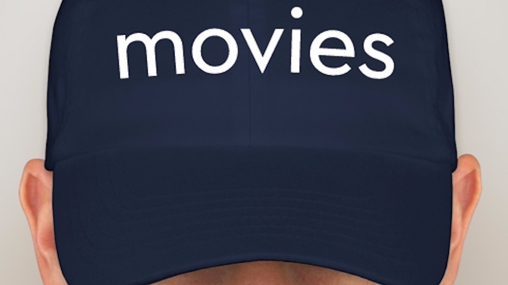 A hat that says 'movies' on it. project video thumbnail