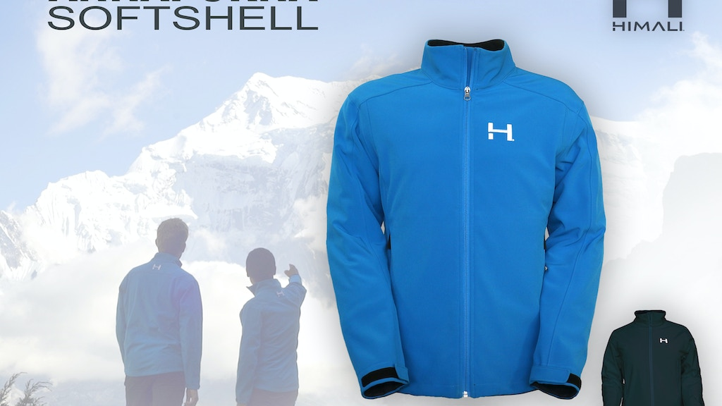 THE ANNAPURNA SOFTSHELL | WindProof - 4 Way Stretch Jacket project video thumbnail