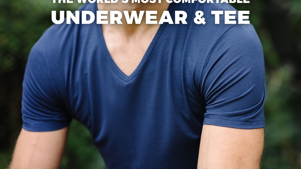 Bliss Collection: World's Most Comfortable Underwear & Tee project video thumbnail