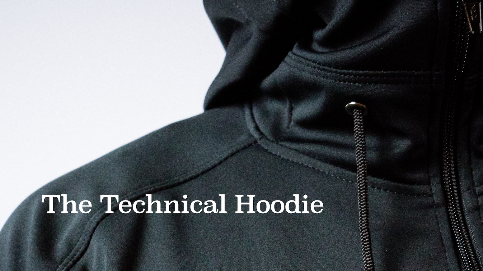 A sharp, versatile hoodie that blurs the line between technical outerwear and casual everyday wear. Made in Seattle.