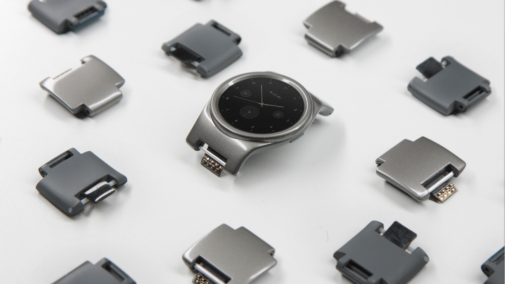 Project image for v2BLOCKS -The World's First Modular Smartwatch