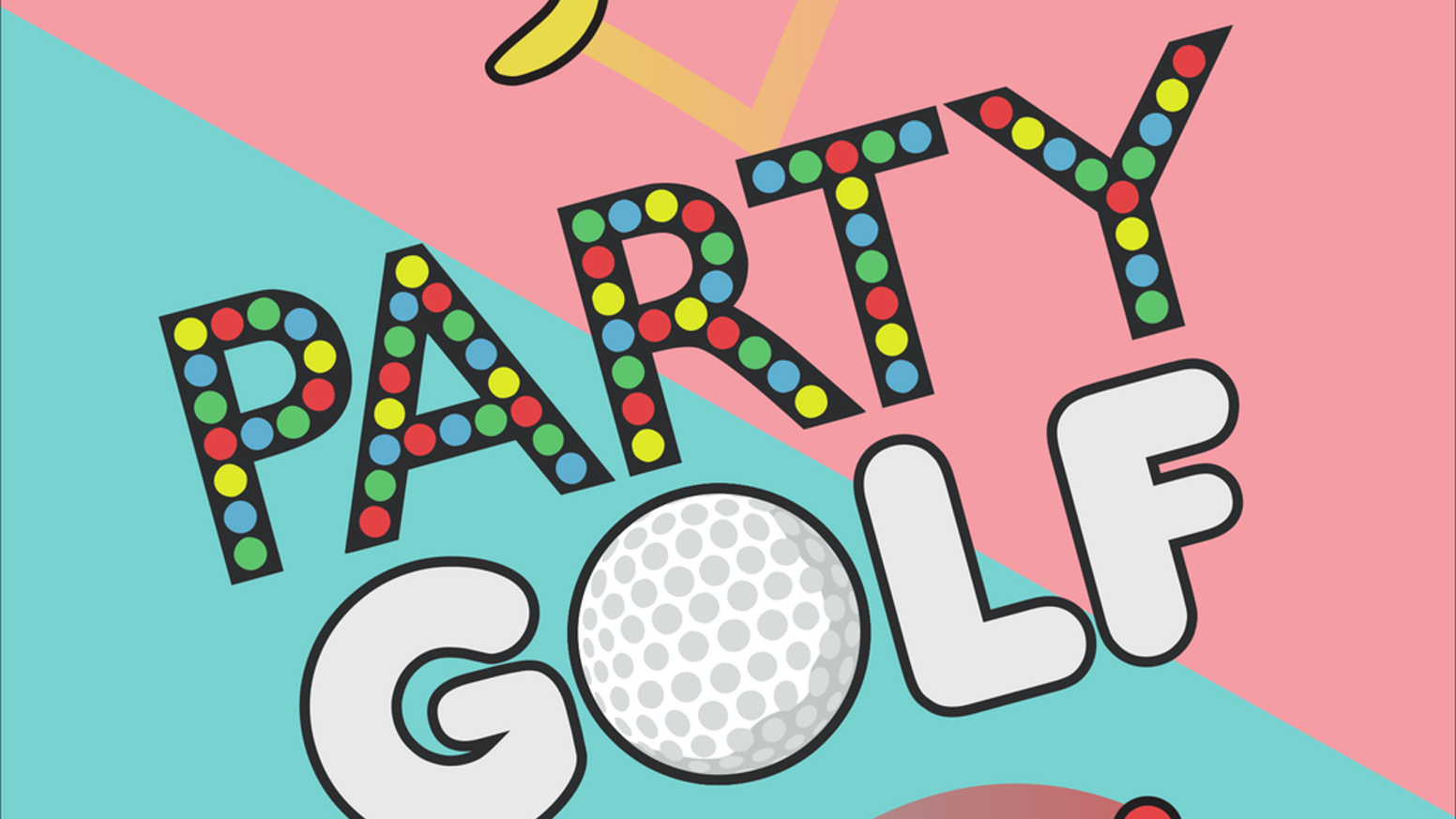 Everything golf isn't!  A fun, frenetic, couchplay game with over a trillion variations of gameplay!  We're shooting for a PS4 release.