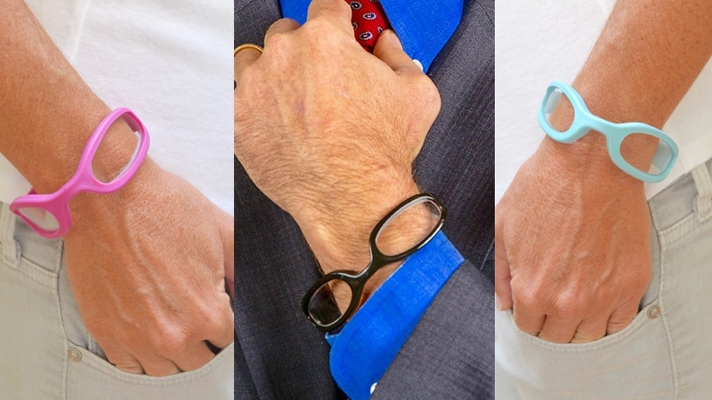 WristReaders:  The World's First + Only Wrappable Eyewear project video thumbnail