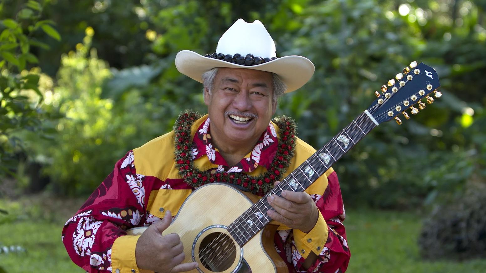 Paniolo Slack Key, Songs of the Hawaiian Cowboy by George Kahumoku