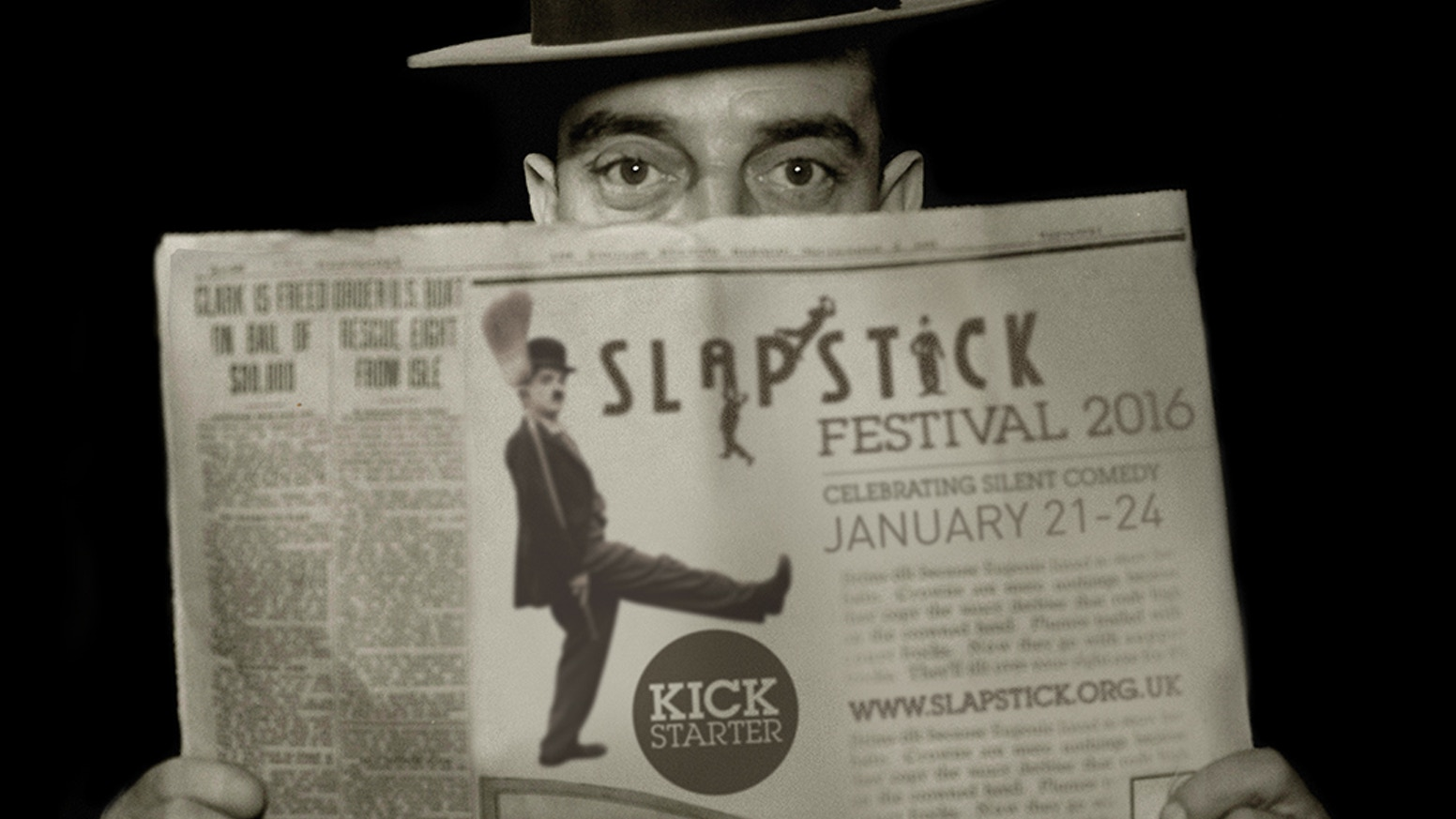 Thank you for all your support - now come to the biggest Slapstick Festival 2016 20 - 25th Jan