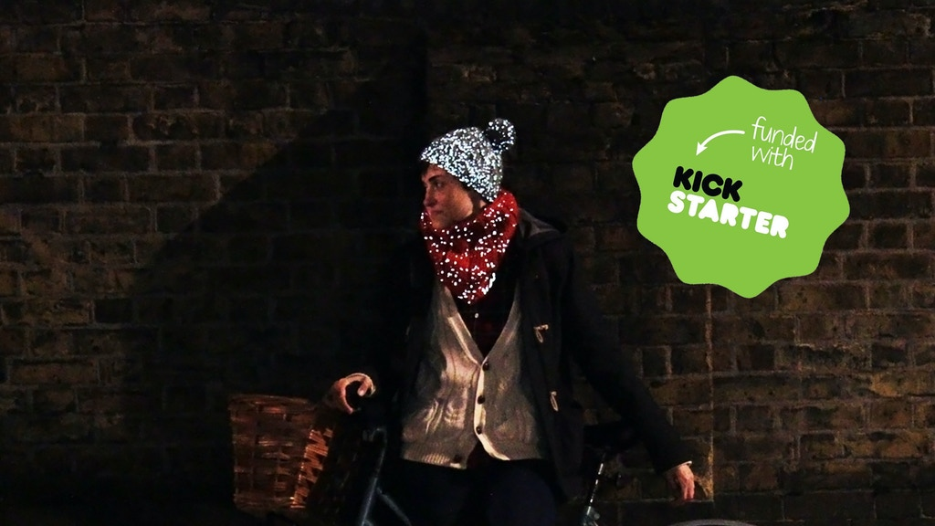 On The Glo - secretly reflective cycling beanies and snoods. project video thumbnail