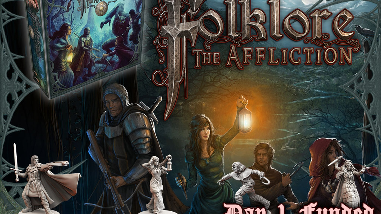 Face your fear, bring your faith, fight your nightmares! Build your character and embark on a dark fantasy RPG board game adventure.