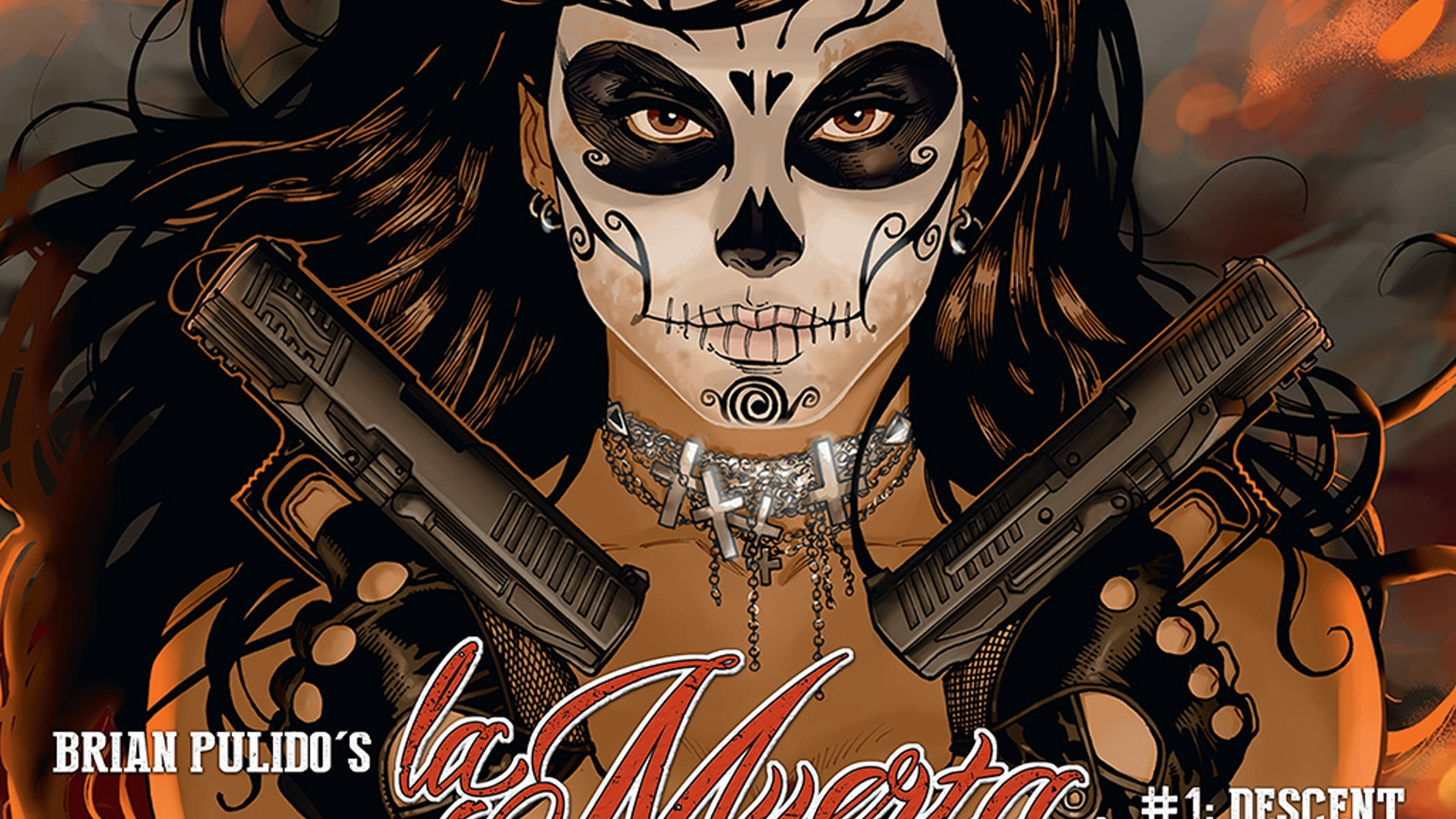 Help Lady Death's creator, Brian Pulido, bring hard-boiled revenge story La Muerta #1: Descent -- to life!