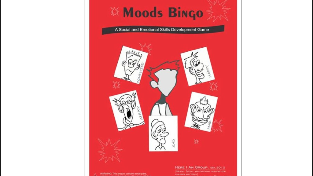 Project image for Moods Bingo Red Set