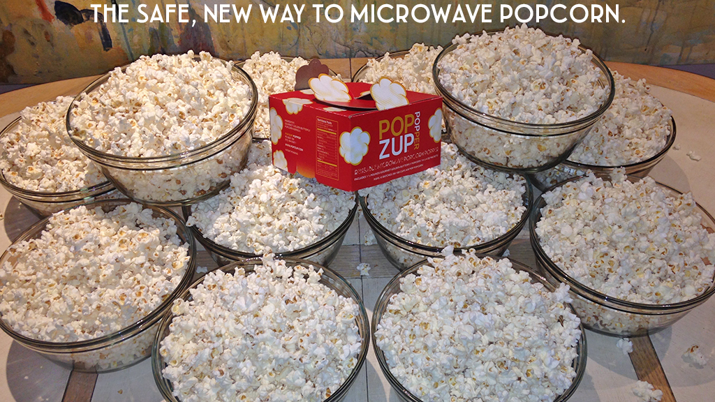 Popzup Popper. Microwave Popcorn; Pure & Simple. project video thumbnail